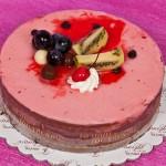 Σοκολάτα Φράουλα Παγωτό